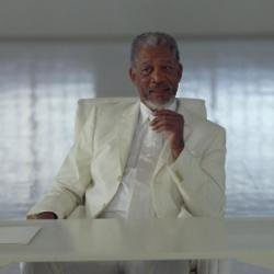 Morgan Freeman (here as God in Bruce Almighty) was given the Life Achievement Award