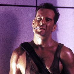 Bruce Willis as John McClane