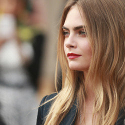Cara Delevingne says her collection for DKNY is a little weird