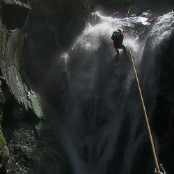 Canyoning in The Azores