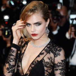 Cara Delevingne fronts the beauty collection