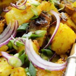 Caraway Spiced Potatoes