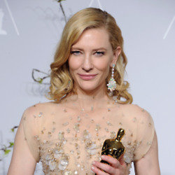 Cate Blanchett was dazzling at the awards yesterday