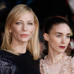 Cate Blanchett & Rooney Mara At Carol Premiere in London