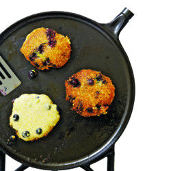 Blueberry Corn Cakes