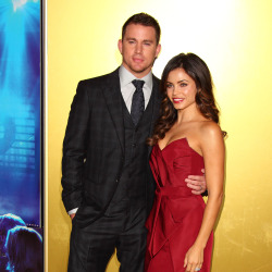 Channing Tatum and Jenna Dewan-Tatum