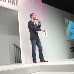 Charley Speed at this year's Clothes Show Live