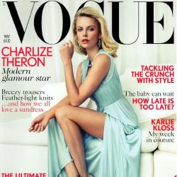 Charlize Theron cover Vogue UK