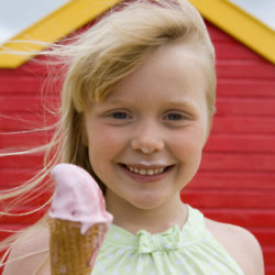 One in ten children have not had a '99 ice-cream at the beach