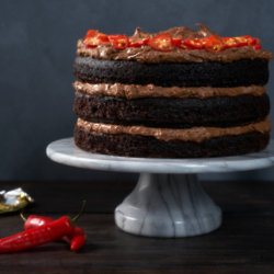 Vegan Chilli Chocolate Cake
