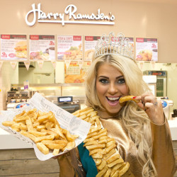National Chip Week: Beauty Queen Goes Chip Couture