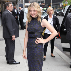 Chloe Moretz in Christopher Kane