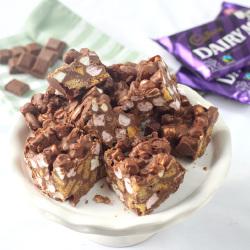 Chocolate Marshmallow Biscuit Cake – by Rachel Allen