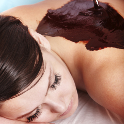 A chocolate massage is the perfect guilt-free treat