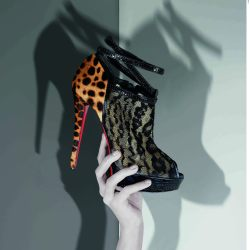 Photographer Phillippe Garcia from Christian Louboutin book published by Rizzoli