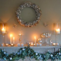 Make your mantel piece a main focus this year
