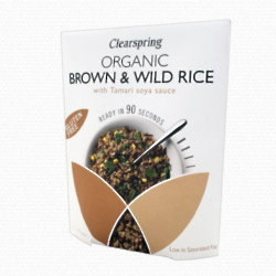Clearspring Organic Brown and Wild Rice