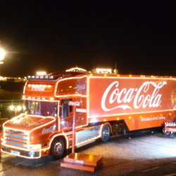 Holidays are coming! Q&A with the Coca-Cola Christmas truck driver