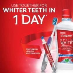 Whiter teeth in just 1 day!