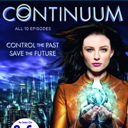 Continuum Season 1 DVD