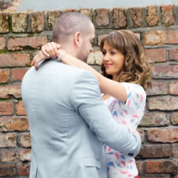 Shayne Ward and Samia Longchambon star as Aidan and Maria / Credit: ITV