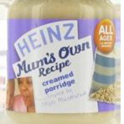Heinz Creamed Porridge Baby Food