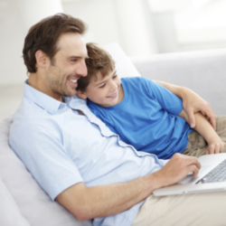 Parenting News: Dads are Using Technology to Bond with Their Kids