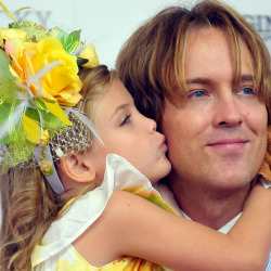 Larry Birkhead with daughter Dannielynn