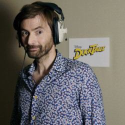 David Tennant voices Scrooge McDuck