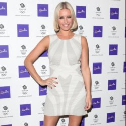 Denise Van Outen on singing her support for Team GB 2012