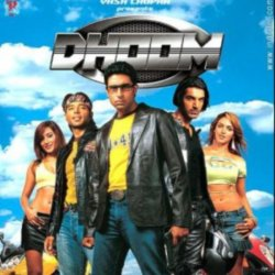 The first 'Dhoom' movie.