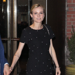 Diane Kruger wears a sleek Chanel look