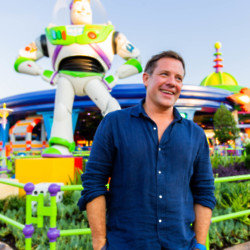 Matt Tebbutt in Walt Disney World, Florida
