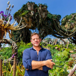 Matt Tebbutt at Walt Disney World in Florida