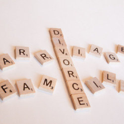 How does it go from marriage and family to divorce?