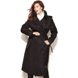 This belted DKNY trench will flatter and forever be in style