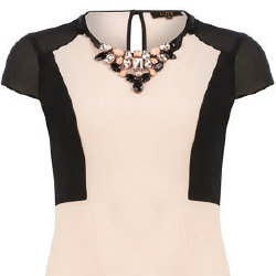 How cute is this necklace top from Dorothy Perkins?
