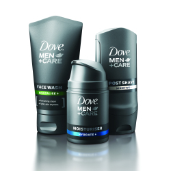 With a Whole Year's Supply of Dove® Men+Care Products
