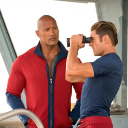 Dwayne Johnson and Zac Efron lead Baywatch