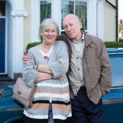 Maggie Steed and Christopher Timothy join the cast of EastEnders