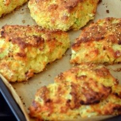Edd Kimber's Bacon Cheese and Spring Onion Scones