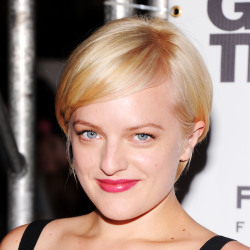 Elisabeth Moss went for a drastic change of colour recently