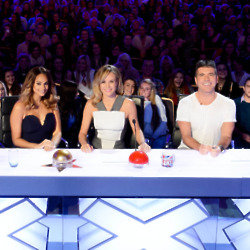 Simon Cowell with BGT judges