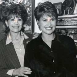 Nanette Newman and Emma Forbes