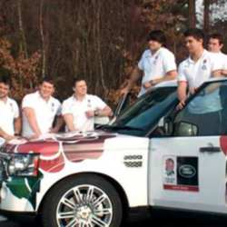 England Stars Take On The Land Rover Challenge
