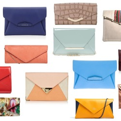 Envelope clutch bags are a must-have fashion item