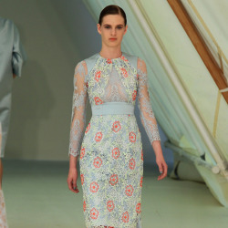 The Erdem SS13 catwalk