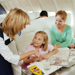 Enjoy your flight and leave feeling refreshed