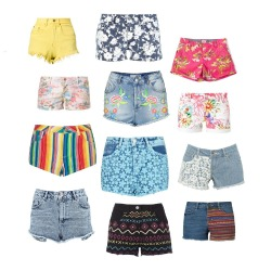 We have the perfect selection of festival shorts