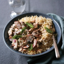 Pork and Mushroom Stroganoff Recipe